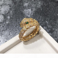 Wholesale snakes rings for sale - Group buy 2018 Fashion Snake Rings lady Ring Fashion Design Long Finger Jewelry High Quality Snake Shaped Ring for Women Party