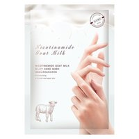 Wholesale remove cuticles for sale - Group buy Goat Milk Hand Mask Multi layer repair Conditioning hand lines Nourish mask Smooth and clean Oil control Remove calluses and Thick cuticle