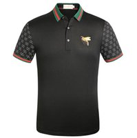 Wholesale little luxuries for sale - Group buy 2020 Men s and women s T shirts high quality designer brands luxury little Bee Polo shirts free delivery Guc ci t shirt