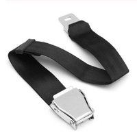 Wholesale seat belts buckles resale online - High strength Two point Eagle Feature Aircraft Buckle Adjustable Seat Extension Large Length Extension Retractable Belt