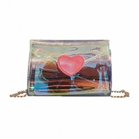 ingrosso amore sac-2019 New Women Fashion Wild Transparent Love Crossbody Messenger Shoulder Bag Sac Transparant Tasjes Dames Transparent Bag#XB35 6FND#