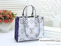 Wholesale large women s handbags resale online - M91832 Design Message Lady S Handbag Women Totes Shopping Bags Tote Large Capacity Bag Be Made From Pu