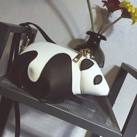 Wholesale girl bag panda resale online - Fashion Panda Preppy Style Crossbody Shoulder bag For Girls Mini Bag Ladies Clutch Girl Hobos Bags bolsa feminina Cute Panda