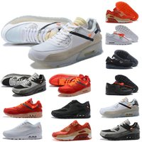 Wholesale cool mens running shoes resale online - Running shoes men women chaussures s triple white black Cool Grey mens trainers Sports Outdoor Sneakers