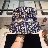 Wholesale flat bucket for sale - Group buy new grid print fisherman hat men and women small fresh and lovely flat top bucket sun hat beanies