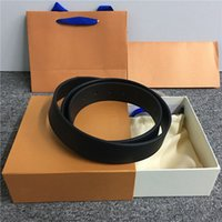 Wholesale 19 belts for sale - Group buy mens belts with box women belts big large belt buckle belt for men fashion leather belt ladies woman waistband colors with gift box