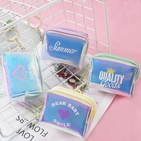 Wholesale bread types for sale - Group buy C8gNs New girl heart key chain accessories bread type magic color coin purse fashion English Key chain Accessories small bag zipper girl s s