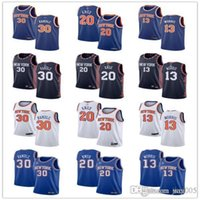 Wholesale julius for sale - Group buy Mens Womens Youth New York Knicks Julius Randle Kevin Knox Marcus Morris Blue white custom Basketball Jerseys