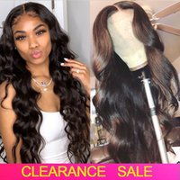 Wholesale long brazilian human hair wig for sale - Group buy Cheap Glueless Body Wave Frontal Closure Wig Density Wet And Wavy Lace Front WIG Lace Front Human Hair Wigs Brazilian Wigs