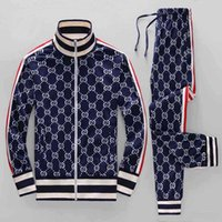 Wholesale mens tennis sweater resale online - high quality Mens Tracksuits Sportswear Men s Jogging Suits Hoodies Sweaters Spring Autumn Casual Sportswear Sets Clothing Out
