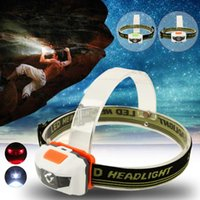 Wholesale powerful headlamps for sale - Group buy Powerful LED LM Mini Super Bright Headlight R3 LED Modes Headlamp Head Light Torch Camping Fishing Hiking