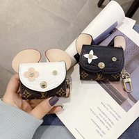 Wholesale iphone keychain case for sale - Group buy For Airpod Case Protective Cover Fashion Cat Mouse Earphone Cases Air pods Protector Cases With Keychain