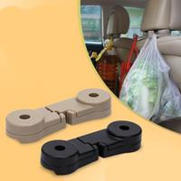 1Pair Car backrest hook car seat back hook stylish headrest accessories indoor car suspension hook Clip