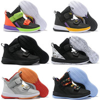 Wholesale basketball shoes sale free shipping resale online - lebron soldier mens basketball shoes for sale lebrons xiii MVP Christmas BHM Oreo sneakers Outdoor Shoes