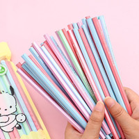 Wholesale free christmas stationery for sale - Group buy 100pcs Kawaii Wood Pencils HB Graphite Pencil for School Office Supplies Cute Stationery Christmas Prizes for Kids Y200709
