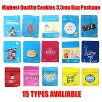 Wholesale milk bags resale online - Cookies Bag Grams Packaging Bags Smell Proof Childproof California Cheetah Piss Gelatti Gary Payton London Pound Cake Cereal Milk