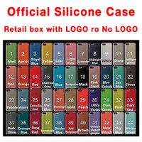 Wholesale Official Silicone Case Cover For i Plus X XR XS pro Max With Retail box