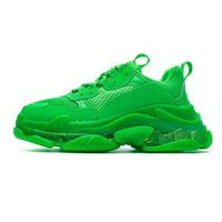 Wholesale old shoes new for sale - Group buy New design Mens and Womens Dad Casual Shoes Crystal Bottom Triple S Leisure Sneakers Old Grandpa Trainer