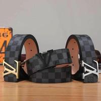 Wholesale dress belt buckles for sale - Group buy Men G fashion designer Letter printed belts for women Big buckles L V Business Jeans L uis Vuitt n Dress strap