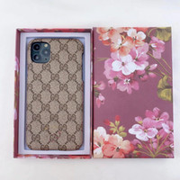 Wholesale TOP Grade Designer Phone Case For iPhone Pro XS Max XR X Plus With Packing box