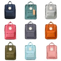 Wholesale large backpack korean resale online - Fjallraven Kanken Backpack Women New Korean Version Of Multi Functional Outdoor Travel Large Capacity Mother Bag Leisure Backpack
