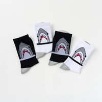 Wholesale crazy products for sale - Group buy 4i6M0 shark cotton independent and packaging Korean Nanpu crazy product shark cotton independent socks and socks packaging Korean Nanpu cra