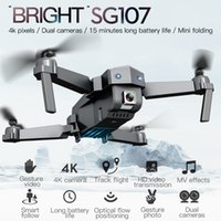 Wholesale 2.4ghz drone for sale - Group buy SG107 Mini Drone with K WIFI P FPV Camera RC Drone GHZ Quadcopter Optical Flow Quadrocopter Camera Toys VS E58 E68