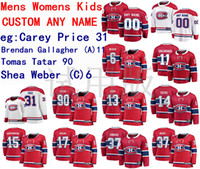 Wholesale canadiens hockey jerseys red resale online - Montreal Canadiens Jersey Carey Price Jersey Brendan Gallagher Tomas Tatar Shea Weber Men Red White Hockey Jerseys Custom Stitched