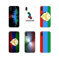 Wholesale iphone xr flag case online – custom Dagestan National Flag Coat of Arms Eagle Case for Apple IPhone X XR XS MAX SE S Plus Pro Max Design Cover Case