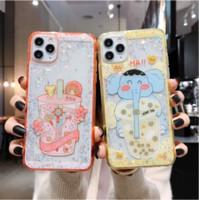 Wholesale iphone7 case online – custom Designer Phone Case Luxury Designer Phone Cases iphone pro Max Cartoon Epoxy Glitter iPhone7 xsmax Fresh All Inclusive Silicone Case