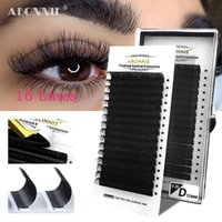Wholesale individual eyelash extension supplies for sale - Group buy Abonnie rows classic eyelash Individual False Eyelash Extensions C D Natural Lash Extension Supply Russian Lashes