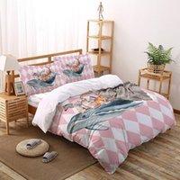 Wholesale zebra print bedding set full resale online - Deer Zebra Bedding Set Four sets of customized bed sheets Bedding Sets Set Luxury