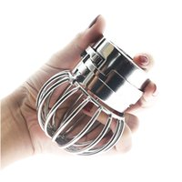 Wholesale Chaste Bird New Male penis Ring Stainless Steel Cock Ring Body Bondage Sex Toys for Men Chastity Device CX200731