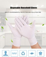 Wholesale tools for left handed for sale - Group buy 100 Disposable Gloves Household Dishwashing Kitchen Work Rubber Garden Gloves Universal For Left and Right Hand Clean Tool