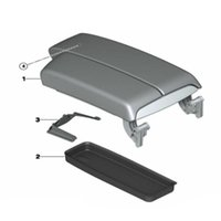 Wholesale armrest tray for sale - Group buy Center Armrest Storage Box Tray Case For Series E90 Black replacement Part