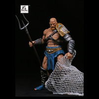 """Anime toy figure XesRay 7 inch action figure NO.003 combatants Fight for Glory Branthoc """"Devil Fish"""""""