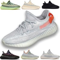 Wholesale kanye west shoes sale for sale - Group buy cheap sale Kanye West v2 Men Desinger Triple Outdoor Shoes Women Trainers citrin Cream Zebra Bred Sports Zapatos Sneakers shoes