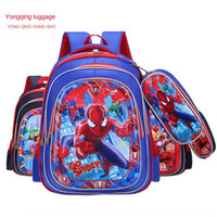 Wholesale cute backpack for men resale online - New style with pen D schoolbag for primary Bag backpack school students children cartoon cute backpack for men and women
