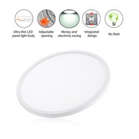 Wholesale recessed lights for home resale online - 20W LED Panel Lights Ceiling Round Recessed Lamp Surface Mounted Round Modern Ceiling Lamp Fixture for Indoor Home Lighting