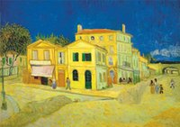 Wholesale house painting art for sale - Group buy The Yellow House Van Gogh Home Decor Handpainted HD Print Oil Painting On Canvas Wall Art Canvas Pictures
