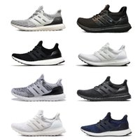 Wholesale ultra boost 4.0 resale online - Ultraboost Uncaged Running Shoes Men Women Ultra Boost III Primeknit Runs White Black Athletic Shoes