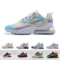 Wholesale running shoes for ladies resale online - Womens Running Shoes React Designer High Quality s Sneakers Lady Classic Trainers Size for Female D0724