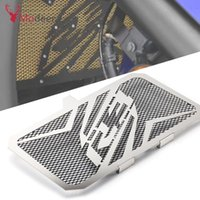 Wholesale radiators covers resale online - Motorcycle Radiator Guard Grille Grill Cover Protection For YZF R3 YZF R3 Radiator Protective