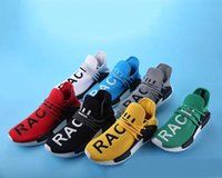 Wholesale human race shoes white for sale - Group buy Pharrell Williams HUMAN RACE In Yellow red black blue grey green white men women Classic Sport sneakers running Shoes eur