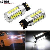 Wholesale led bulbs for can lights for sale - Group buy iJDM Xenon White CAN bus PW24W PY24W LED Backup Reverse Light Bulbs For Series i i i M4 F32 F33 F36 F82