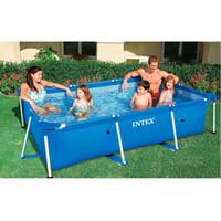 metal frame steel tube rectangular square swimming Pool Set Pipe Rack Pond Large Bracket above ground filter summer play pool
