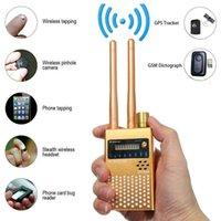 Wholesale bug detector finder resale online - G A Multi function GPS Detector GSM Audio Bug Finder RF Tracker