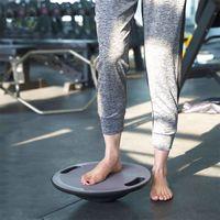 Wholesale plate fitness resale online - Yoga Balance Plate Exercise Gym Sport Performance Fitness Exercise Balance Board ABS TPR Yoga Training Non slip Balance Equipment VT1398