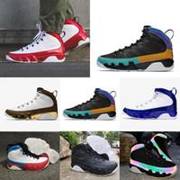 Wholesale jordan 9 for sale - Group buy 2020 New s IV white black men basketball shoes Nakeskin Jordan sports sneakers fashion trainers shoes size FlxF