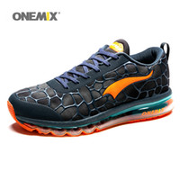 extérieur de coussin achat en gros de-ONEMIX Nouvelle arrivée des femmes des hommes Chaussures en plein air pour Mocassins Coussin Air Mesh Chaussures Casual 1096 Designer Jogging Outdoor Training